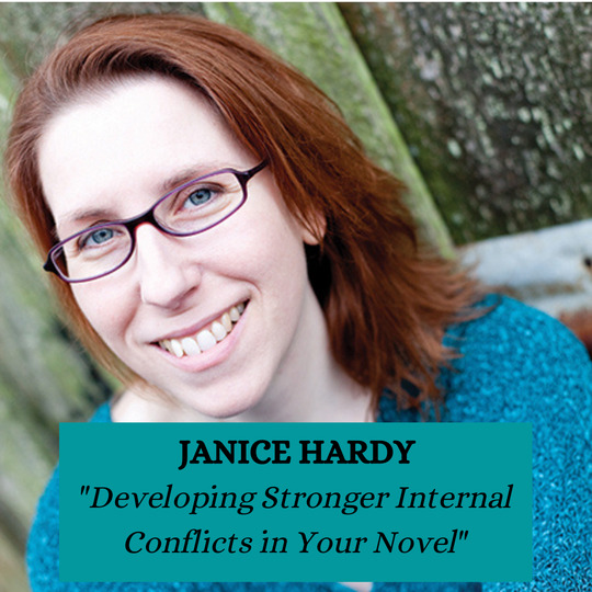 Janice Hardy - Developing Stronger Internal Conflicts in Your Novel